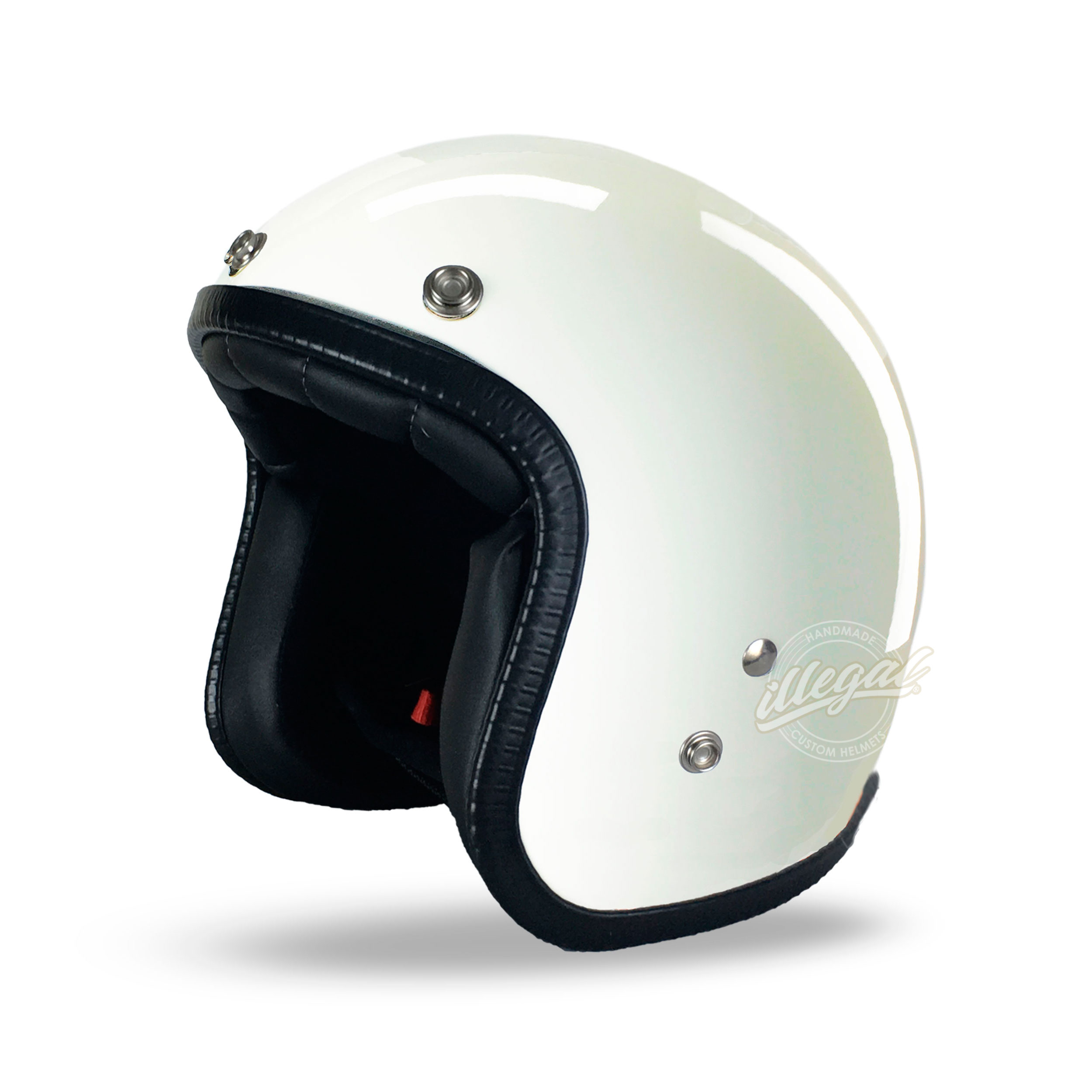 casco moto illegal ultra white